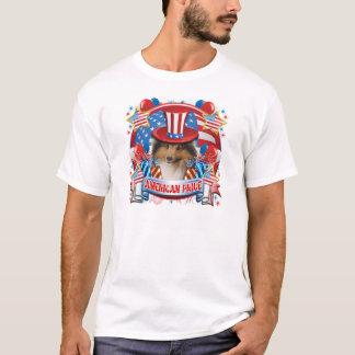American Pride Sheltie T-Shirt