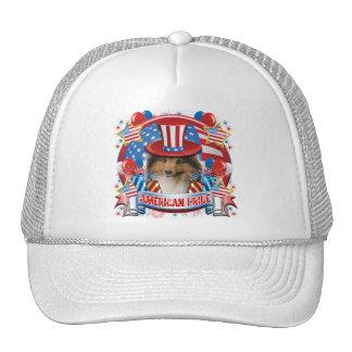 American Pride Sheltie Trucker Hat