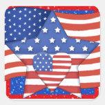 American Pride - SRF Square Sticker