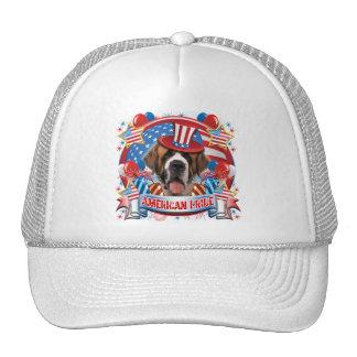 American Pride St Bernard Mesh Hat