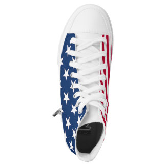 American Pride Stars and Stripes High-Top Sneakers