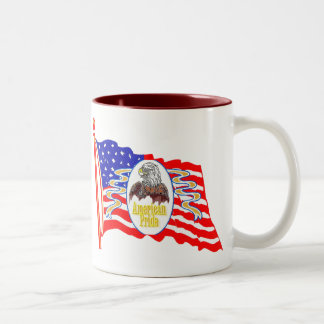 American Pride Two-Tone Coffee Mug