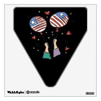 American Pride Wall Decal