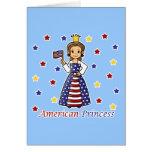 American Princess Greeting Card