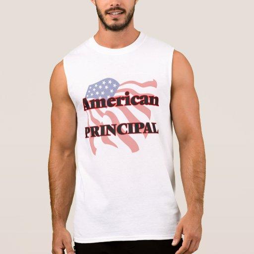 American Principal Sleeveless T-shirt Tank Tops, Tanktops Shirts