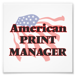 American Print Manager Photo Print
