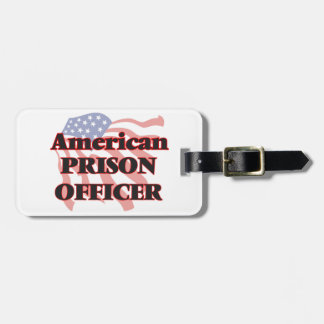 American Prison Officer Tags For Luggage