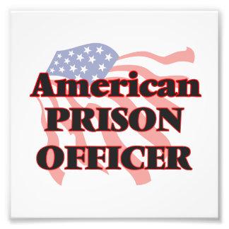 American Prison Officer Photo Print