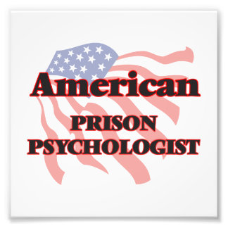 American Prison Psychologist Photo Print