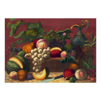 American Prize Fruit 1867 Poster