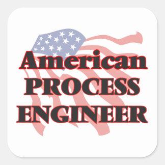 American Process Engineer Square Sticker