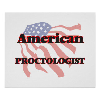 American Proctologist Poster
