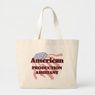 American Production Assistant Jumbo Tote Bag