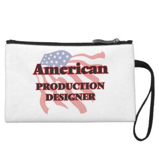 American Production Designer Wristlet Clutch