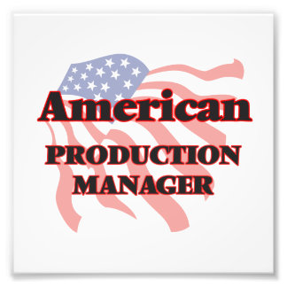 American Production Manager Photo Print