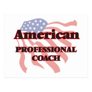 American Professional Coach Postcard
