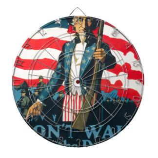 American Propaganda Dartboard