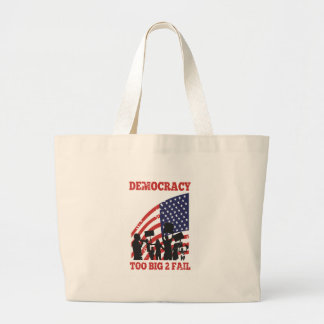 American Protesting Democracy Wall Street Tote Bags