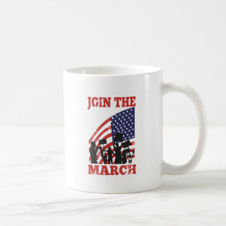 American Protesting Wall Street Join March Coffee Mugs