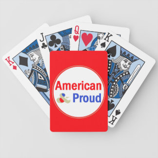 American & Proud Bicycle Playing Cards