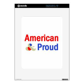 American Proud iPad Decal