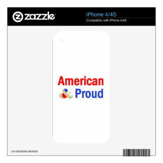 American Proud iPhone 4 Skin