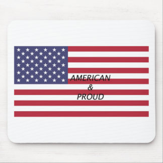 American & Proud Mouse Pad