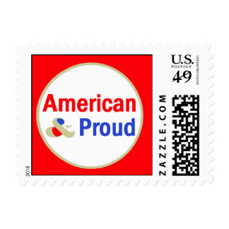 American Proud Postage Stamps