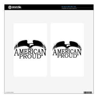 American Proud Kindle Fire Skins