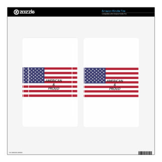 American & Proud Kindle Fire Skins