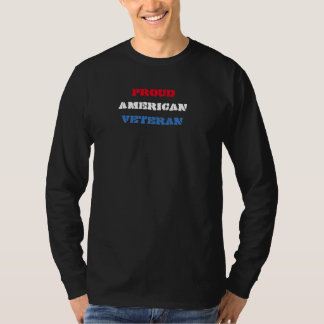 AMERICAN PROUD VETERAN shirt