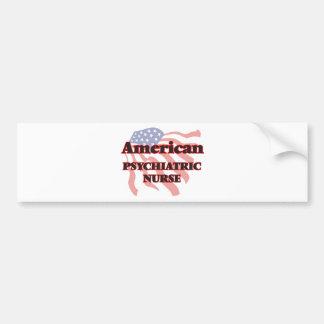 American Psychiatric Nurse Car Bumper Sticker