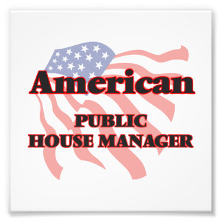 American Public House Manager Photo Print