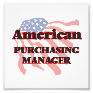American Purchasing Manager Photo Print