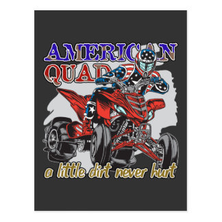 American Quad Postcard