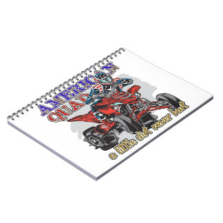 American Quad Spiral Notebook
