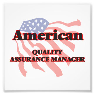 American Quality Assurance Manager Photo Print