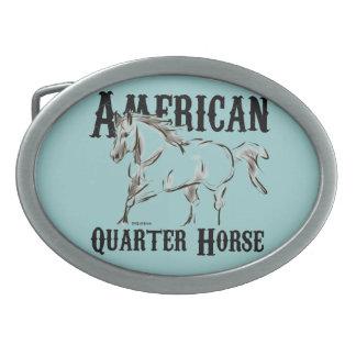 American Quarter Horse Belt Buckles