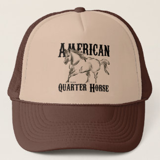 American Quarter Horse Trucker Hat