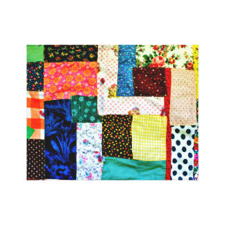 American Quilt Canvas Print
