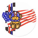 AMERICAN RACING CLASSIC ROUND STICKER
