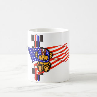 American Racing USA Autosport motorsport Classic White Coffee Mug