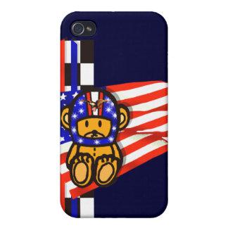 American Racing USA Autosport motorsport iPhone 4 Cases