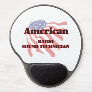 American Radio Sound Technician Gel Mouse Pad