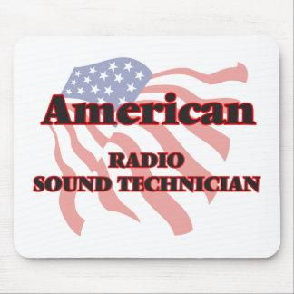 American Radio Sound Technician Mouse Pad