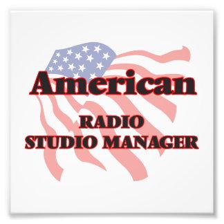 American Radio Studio Manager Photo Print