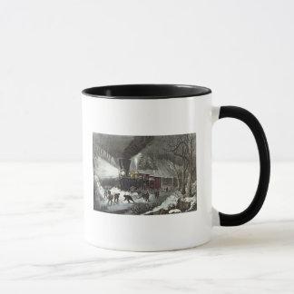 American Railroad Scene, 1871 Mug