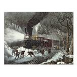 American Railroad Scene, 1871 Post Cards