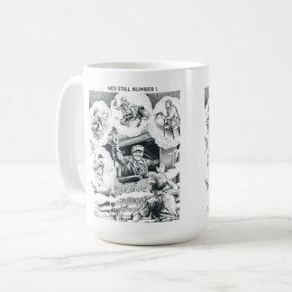 American Railroad Train Engineer Coffee Mug