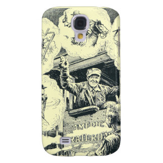 American Railroad Train Engineer Galaxy S4 Cover